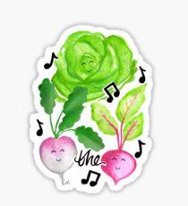 Turnip the Beets Sticker