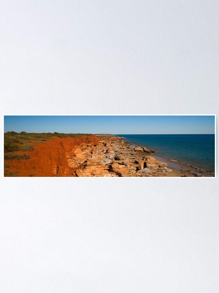 Alternate view of Gantheaume Point, Broome, WA Poster