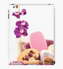 Spa specific treatments for the care of the body iPad Case/Skin