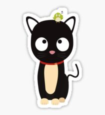 Bird and Cat Guess Who Rm70n Sticker