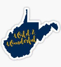 Wild & Wonderful WV Sticker