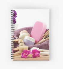 Spa treatments designed for the beauty of your body Spiral Notebook