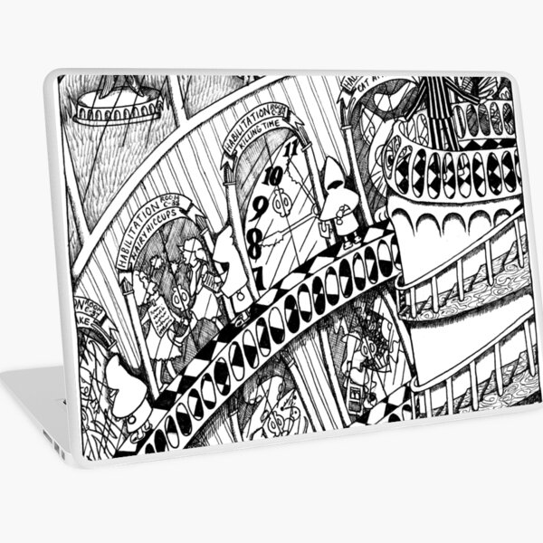 The Big Book of Nightmares - The Facility Laptop Skin