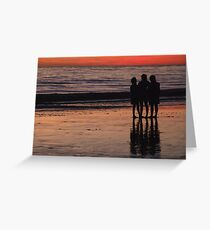 We Three Greeting Card