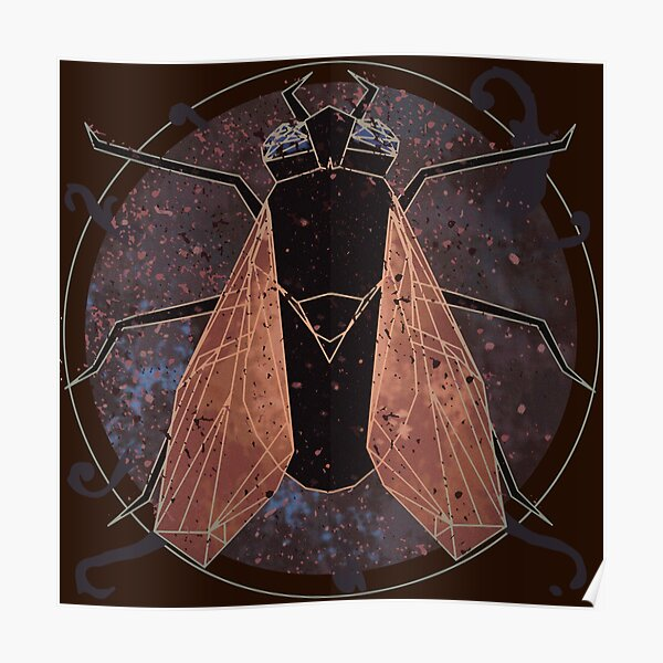 Leprous' fly - Geometric Poster