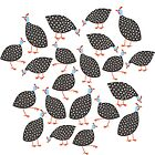 Guinea Hens by Nic Squirrell