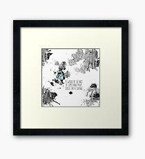 Alice Sense Framed Print