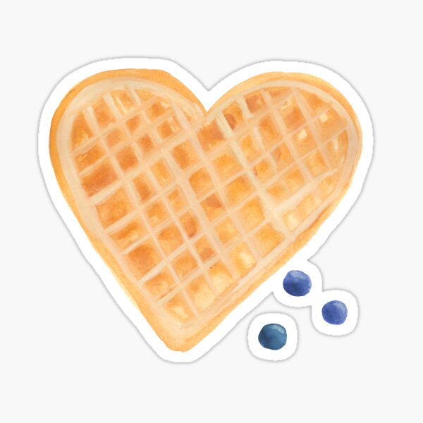 I Love You A Waffle Lot Sticker