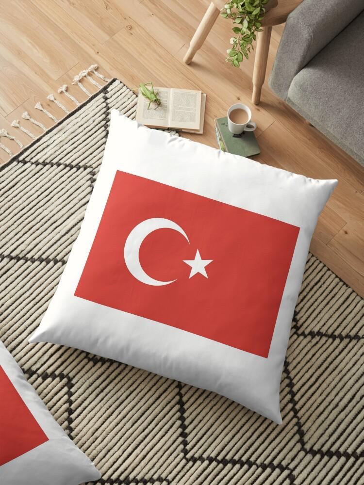 TURKEY, Flag of Turkey, Turkish Flag, Crescent Moon, Star, Pure ...