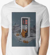DONKEYKONG Men's V-Neck T-Shirt