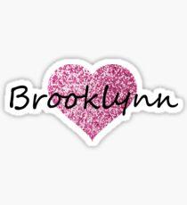 Brooklynn Sticker