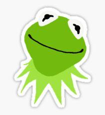 Kermit the frog sticker Sticker
