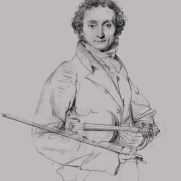 Niccolò Paganini - Virtuoso Violinist, Guitarist, Composer by Thornepalmer