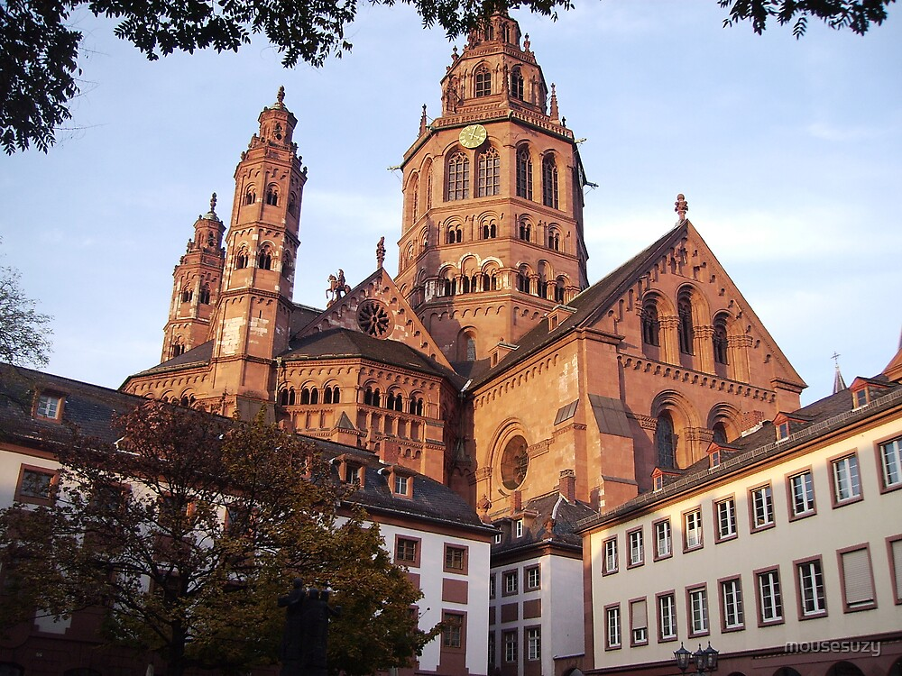 Cathdedral in Mainz by mousesuzy
