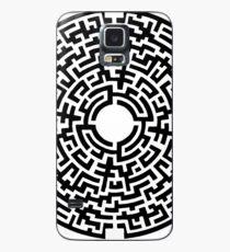 Labyrinthe Noir Case/Skin for Samsung Galaxy