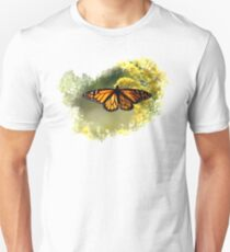 The Monarch and the Golden Rod Unisex T-Shirt