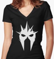 Shadow of War - Terror Tribe Women's Fitted V-Neck T-Shirt