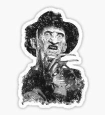 Freddy Krueger Sticker