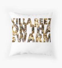 Killa Beez On The Swarm Throw Pillow