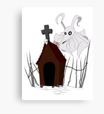 Dog house Canvas Print