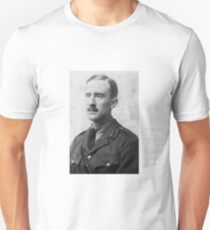 J.R.R. Tolkien - black and white T-Shirt