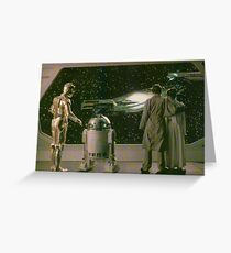SW ESB Space Scenery Greeting Card