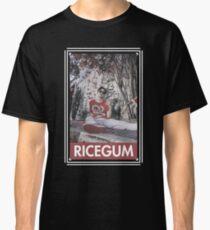 RICEGUM, RED COLOUR EFFECT. Classic T-Shirt
