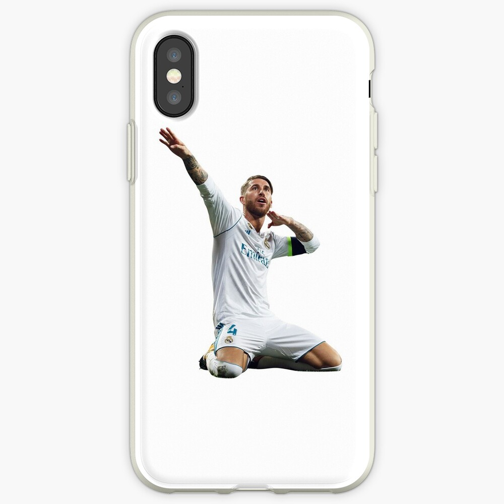 Sergio Ramos Funda y vinilo para iPhone