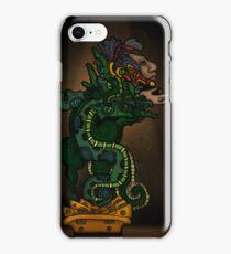 Mayan Serpent God iPhone Case/Skin