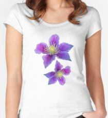 Fabulous flowers Women's Fitted Scoop T-Shirt