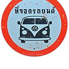 Parking Permitted In Thailand by Remo Kurka