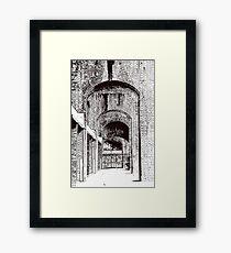 Birmingham city centre, Digbeth Framed Print