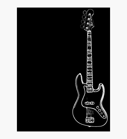 bass electric Photographic Print
