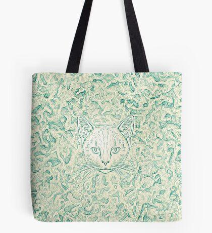Cold—Warm Cat Tote Bag
