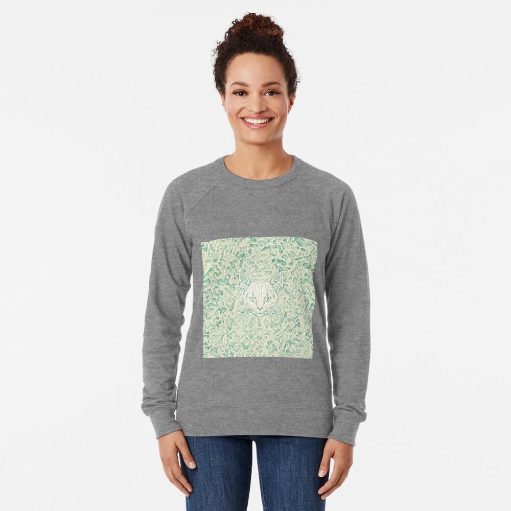 Cold—Warm Cat Lightweight Sweatshirt