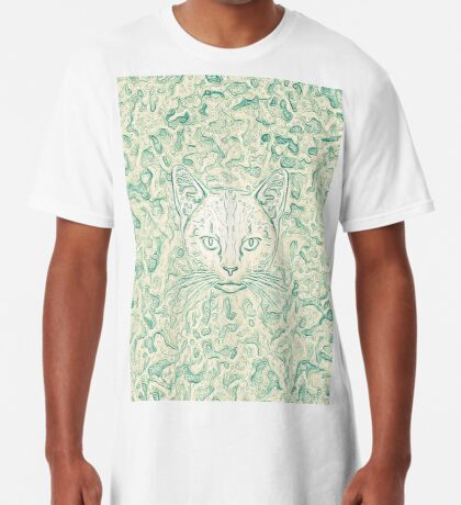 Cold—Warm Cat Long T-Shirt