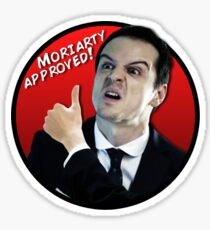 Moriarty Approved! Sticker