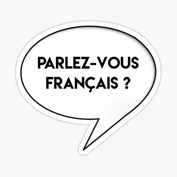 Parlez-vous francais? Sticker