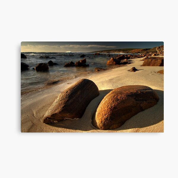 Hot Rocks Canvas Print