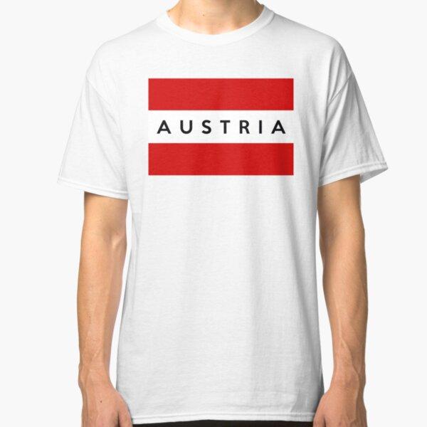 flag of austria Classic T-Shirt