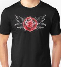 Watercolor floral vignette T-Shirt