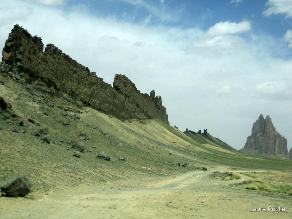 Shiprock, New Mexico by Laura Puglia