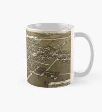 Panoramic Maps View of the city of Waupun Wis situated in Fond du Lac  Dodge Counties Mug