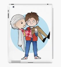 Doc and Marty -  Back to the future iPad Case/Skin