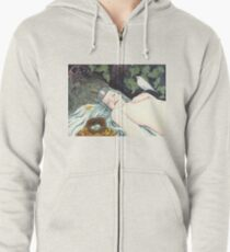 The Robin's Daughter Zipped Hoodie