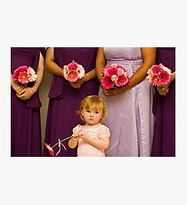The Late Bloomer Photographic Print