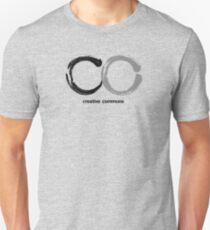 Creative Commons, Sumi Japanese Brush Style  T-Shirt