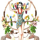 Enchanted Tiki Room Pinup by Jeremy Kohrs