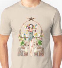 Enchanted Tiki Room Pinup Unisex T-Shirt