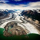 Lowell Glacier by Yukondick